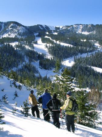 Taos Ski Valley, Nouveau-Mexique : Awesome views overlooking Kachina Basin