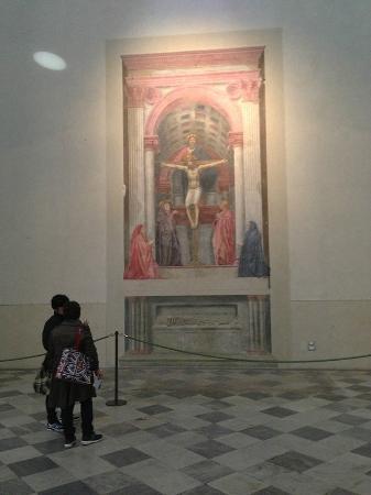 Church of Santa Maria Novella: Masaccio's Holy Trinity, c. 1425