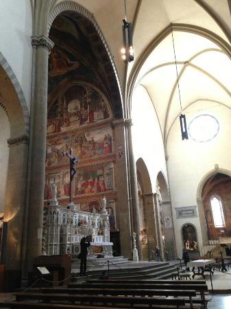 Church of Santa Maria Novella: fresco cycle
