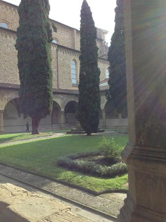 Church of Santa Maria Novella: the cloister