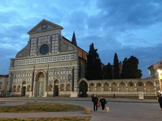 Church of Santa Maria Novella: evening view of Santa Maria Novella