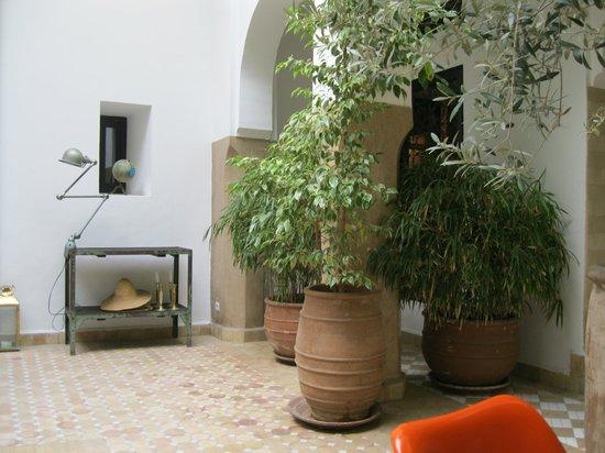 Riad Magellan Yoga: Courtyard