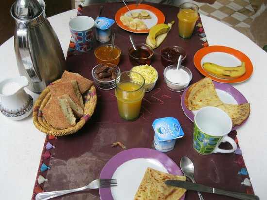 Riad Magellan Yoga: Breakfast