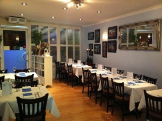 Main dining area at Iyara Thai Restaurant