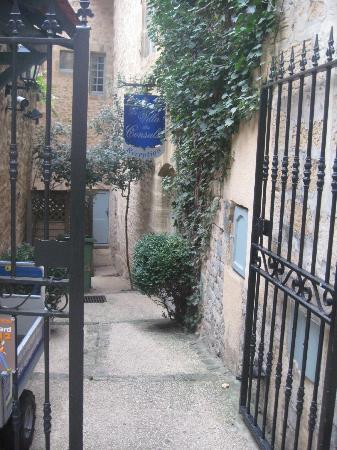 La Villa des Consuls: entrada