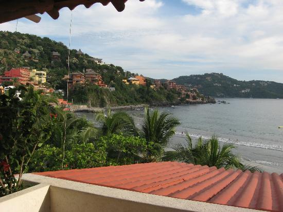 Bungalows La Madera: Bay view