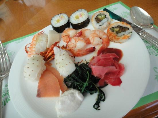 Hilton Gyeongju: Hawaii Sushi Teller