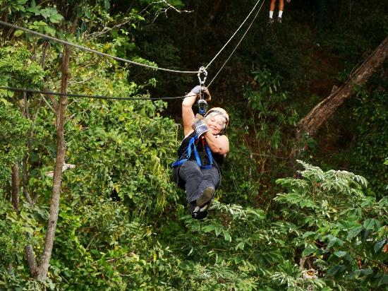 The Congo Trail Canopy Tour : What a wonderful ziplining time I had.