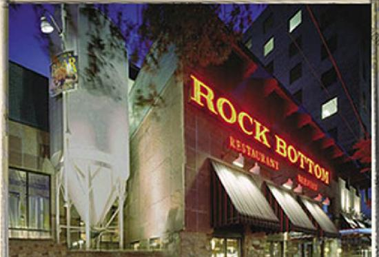 Rock Bottom Bethesda is five miles north of DC, just off Wisconsin Avenue at the corner of Norfolk Ave and St. Elmo Ave. Yes, it's a lot of Avenues, b.