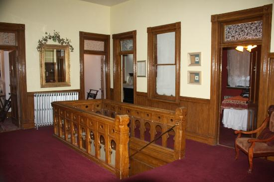 Teller House: inside of hotel