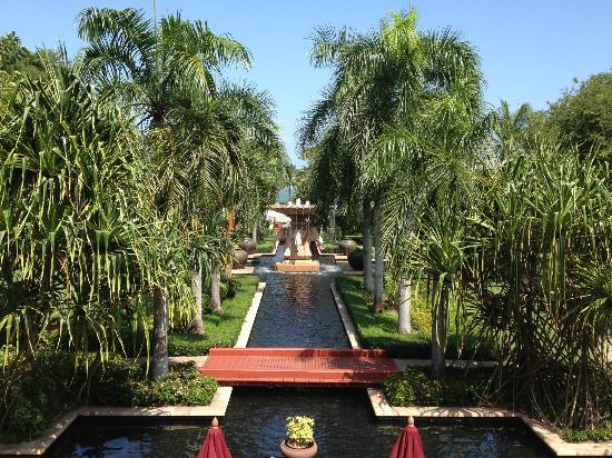 Hyatt Regency Hua Hin: View from the lobby area