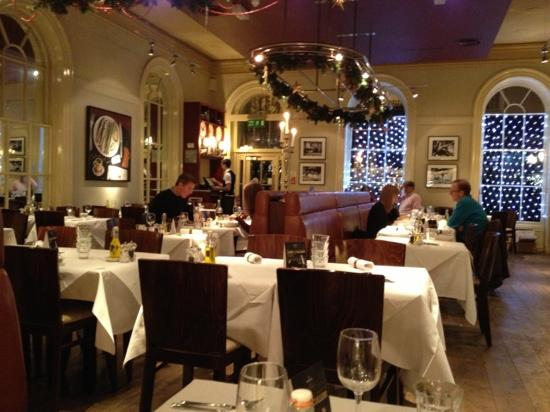 Brasserie Blanc : Christmas time