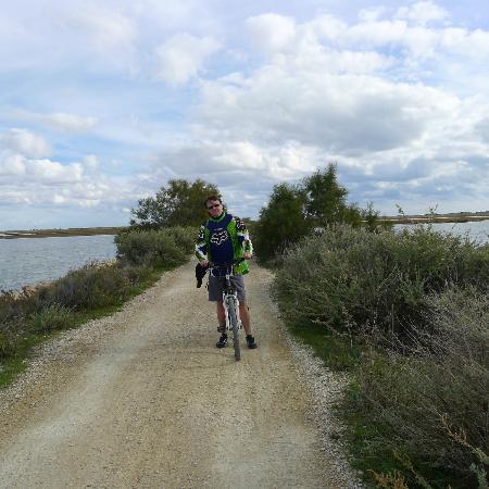 Le Mas de Cocagne : bike trail