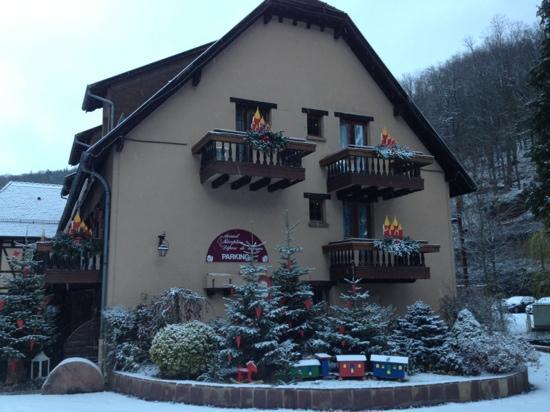Domaine Le Moulin: vue de l'hôtel
