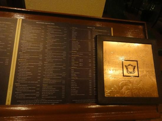 Sofitel Angkor Phokeethra Golf and Spa Resort: Restaurant Menu