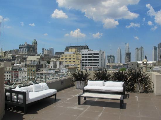 Moreno Hotel Buenos Aires: Terrasse sur le toit