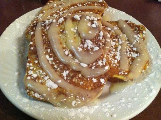 The Breakfast Club : Lemon Poppyseed French Toast