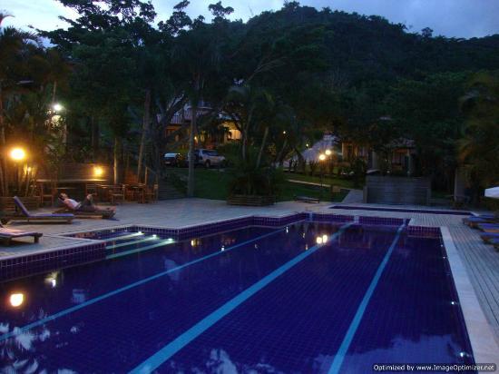 بوسادا أوسينوماري: pool view 