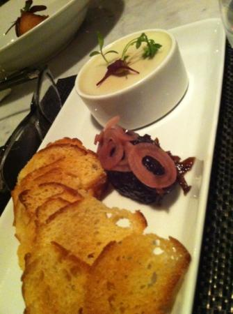 Stone Road Grille: chicken liver mousse