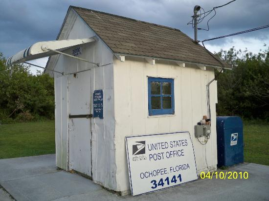 Ochopee Post Office: Building / THIS IS THE POST OFFICE