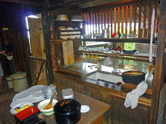Kona Historical Society: Old Japanese kitchen
