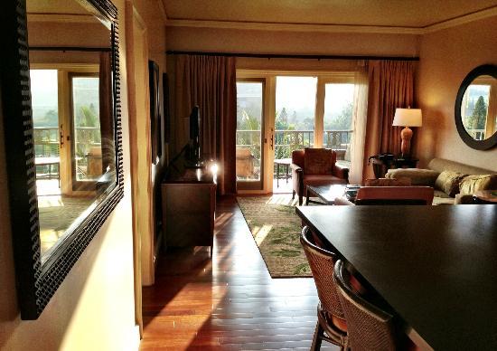One Bedroom Suite Patio View Picture Of The Ritz Carlton Kapalua Kapalua Tripadvisor