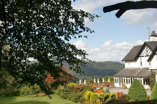 Linthwaite House Hotel: sunny day!!