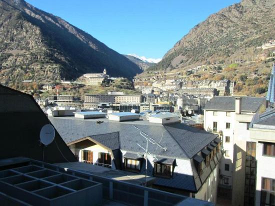 Tulip Inn Andorra Delfos Hotel: Vistas desde la habitación