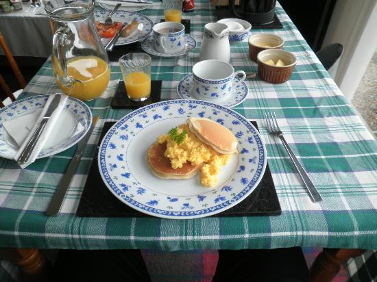 Serendipity Bed and Breakfast: Beakfast (You can eat very good)