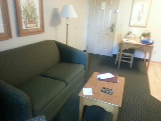 Homewood Suites by Hilton Phoenix / Scottsdale : Living room to my suite