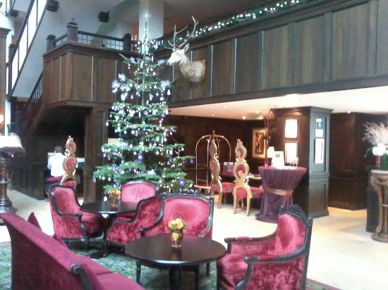 Clontarf Castle Hotel: lobby