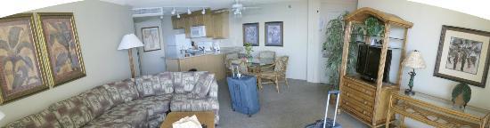 Aston Kaanapali Shores: ocean view king suite
