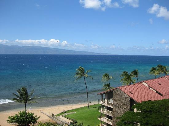 Aston Kaanapali Shores: view from balcony