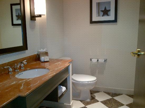 Hilton Dallas Park Cities: Bathroom