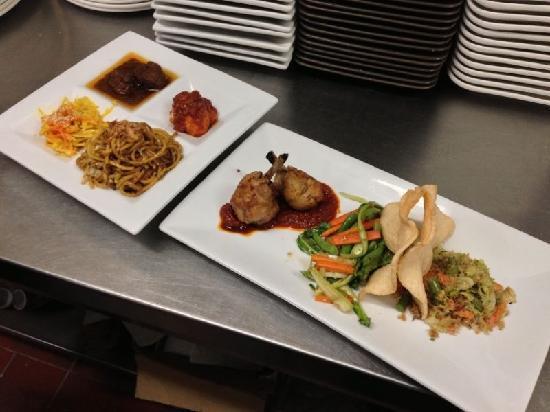 Monggo Restaurant: Rijstaffel