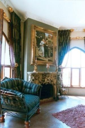Castle in Clarens : lounge