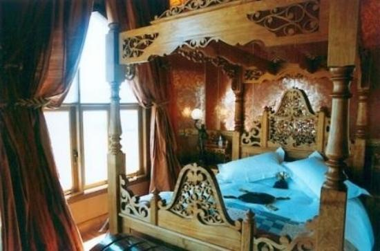 Castle in Clarens: Rapunzel's room