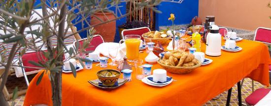 Dar Saïd: Petit déjeuner