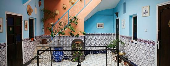 Dar Saïd: Une maison colorée et lumineuse