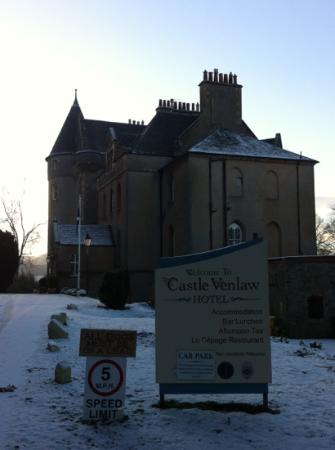 Castle Venlaw Hotel: lovely and romantic