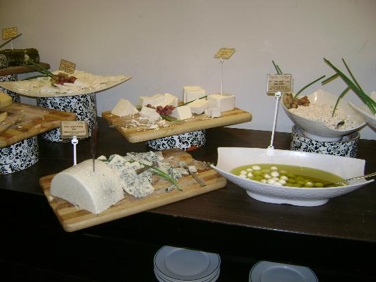 Hagoshrim Hotel & Nature: cheeses