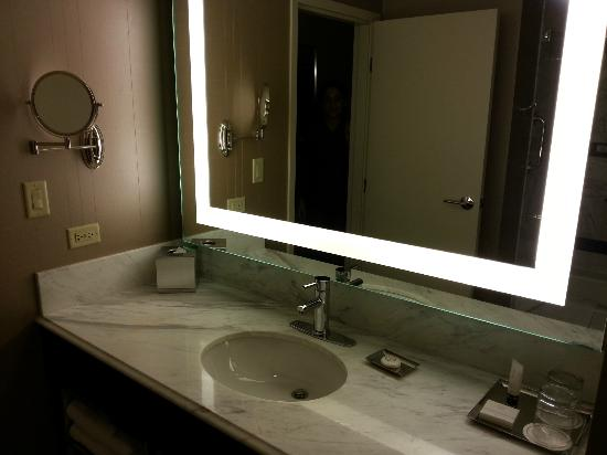 hotel bathroom mirrors bathroom mirror picture of mgm grand hotel and casino 13168