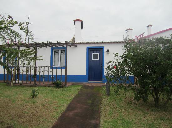 Vila Pilar: vista da entrada da casa