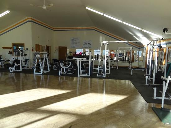 Spruce Hill Resort & Spa: Excellent fitness facilities!