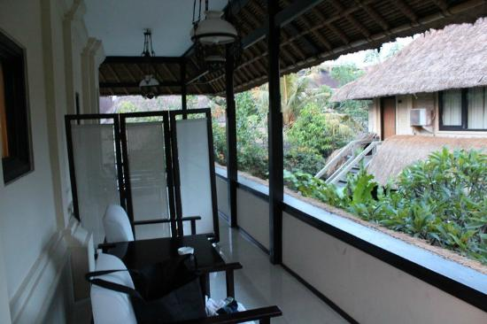 Pertiwi Resort & Spa: The balcony