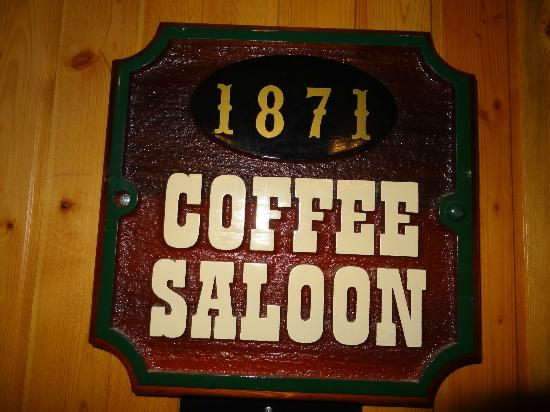 Spruce Hill Resort & Spa **CLOSED FOR RENOVATIONS - OPENING JULY18th **: The Coffee Saloon served more than coffee!