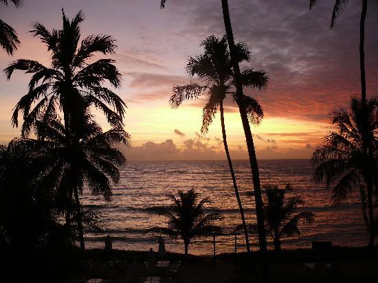 Hotel Pousada Porto da Lua: Sonnenaufgang vom Zimmer aus