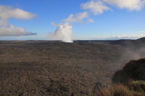 Kilauea Volcano: halema'uma'u  vulcano attivo, dentro la caldera Kilauea