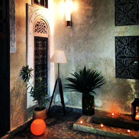 Riad Anata: The interior patio