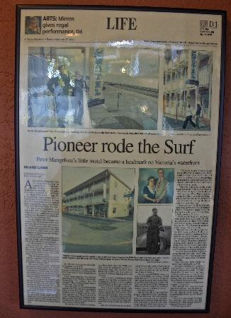 Surf Motel: History of the Surf